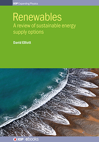 Renewables, A review of sustainable energy supply options cover