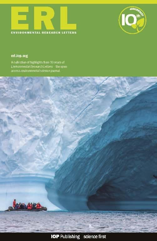 Картинки по запросу Environmental Research Letters