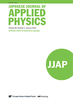 Japanese Journal of Applied Physics - IOPscience