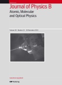 Special issue collection - Journal of Physics B: Atomic