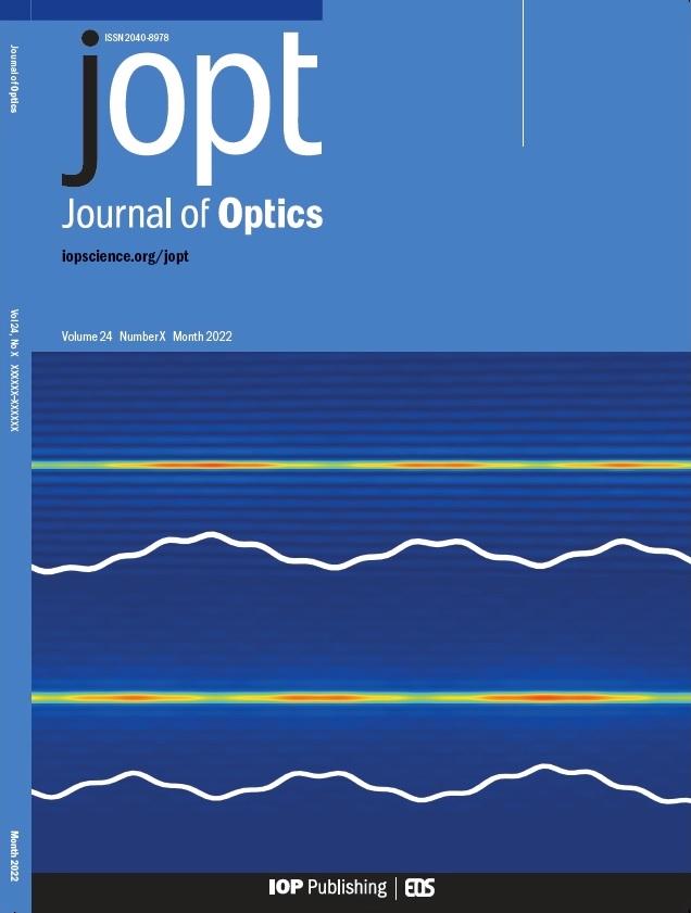 Journal of Optics - IOPscience