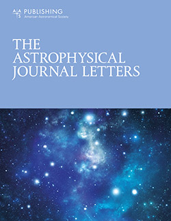 The Astrophysical Journal Letters - IOPscience