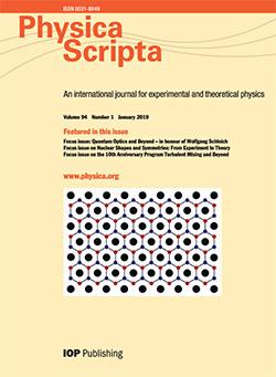 Physica Scripta - IOPscience