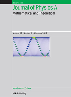 Journal of Physics A: Mathematical and Theoretical - IOPscience