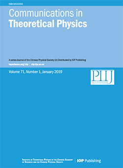 Communications in Theoretical Physics - IOPscience