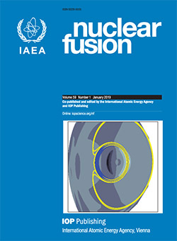 Nuclear Fusion - IOPscience